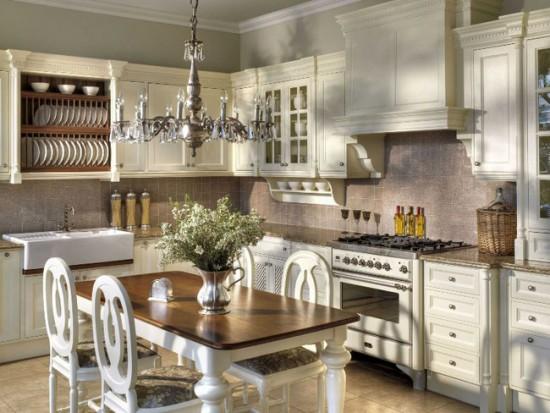 Кухонная мебель должна быть классической: строгой и элегантной
