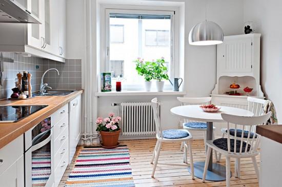 Кухни в скандинавском стиле очень светлые