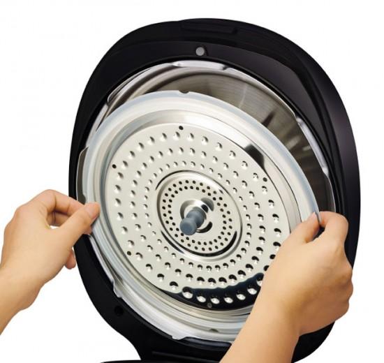 Выбирайте модель со съемной крышкой - ее легче мыть