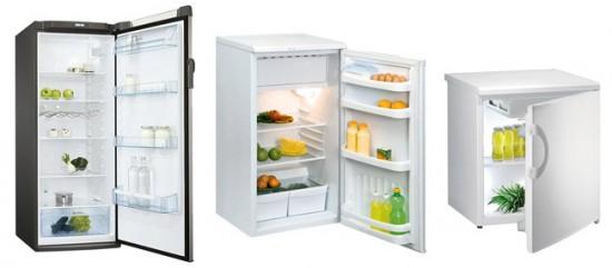 Компактные однокамерные холодильники