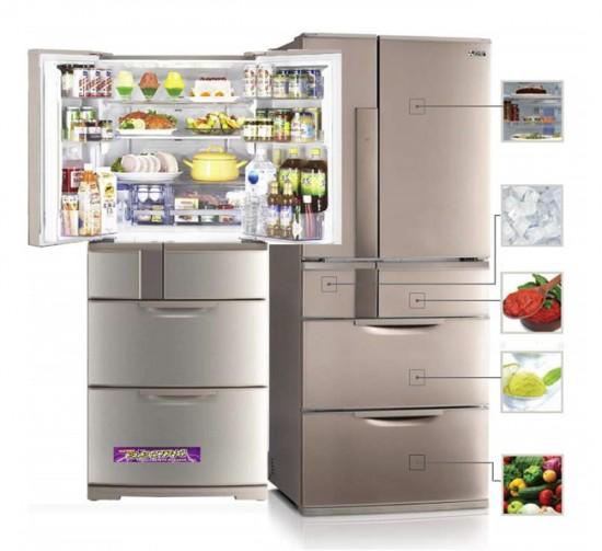 Многокамерные холодильники