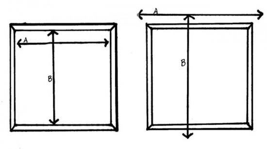 Необходимы замеры при изготовление рулонных штор