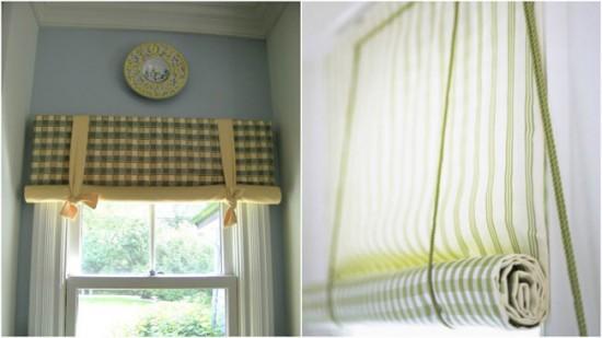 Рулонные шторы с лентой