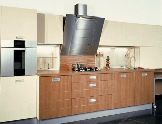 Вытяжка может прекрасно дополнить дизайн кухни