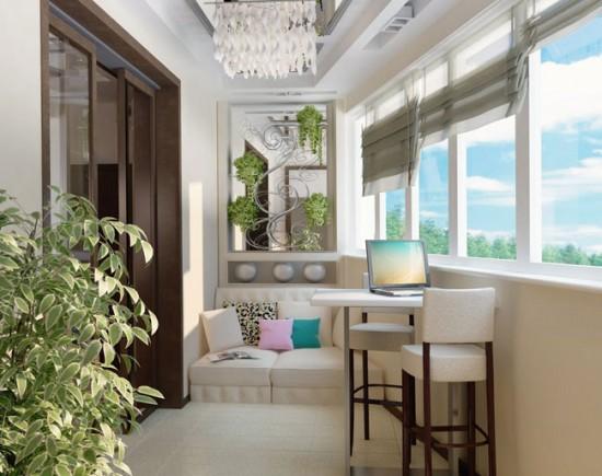 Прежде чем приступать к дизайну балкона, позаботьтесь о его утеплении