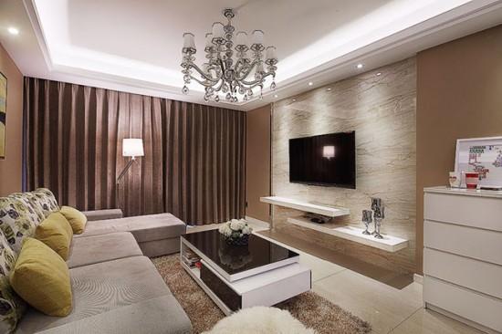 Гостиная с элементами классического стиля