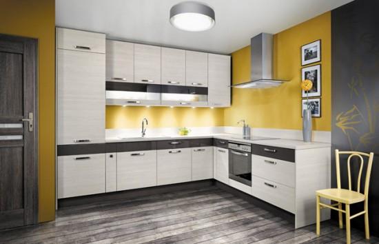 совсем нелишними в интерьере кухни будут картины или фото в простых рамках