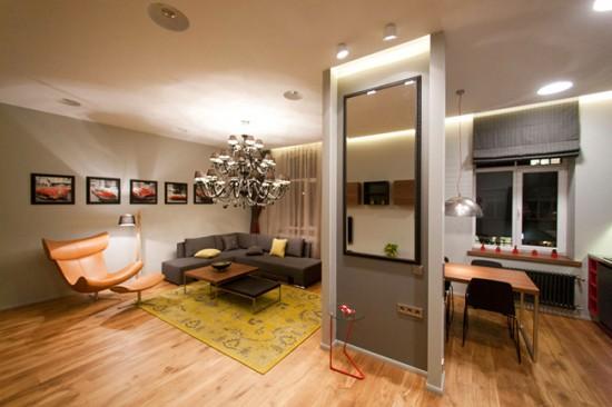 Квартира-студия может быть выполнена в любом стиле