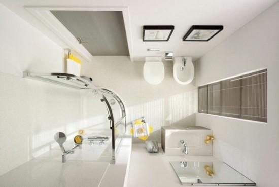 Прямоугольная или квадратная раковина хорошо впишется в минималистический стиль ванной