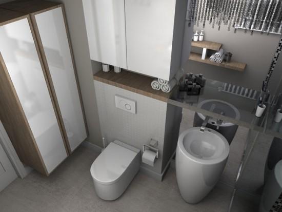 Компактная мебель позволит вместит все необходимые мелочи