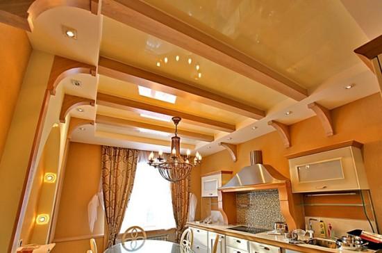 Потолок сложной конструкции