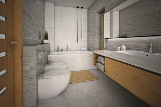 Главный тренд дизайна ванной - минимализм