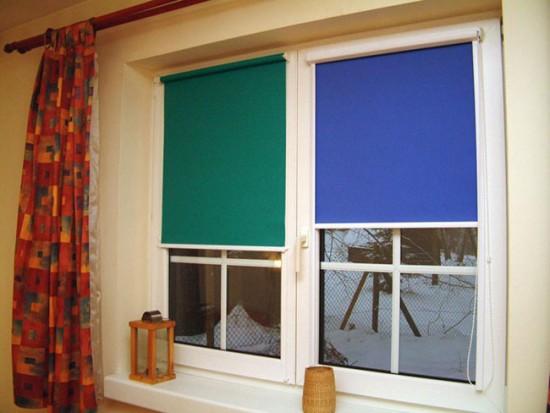 Рулонные шторы из плотной ткани - надежная защита от проникновения света с улицы