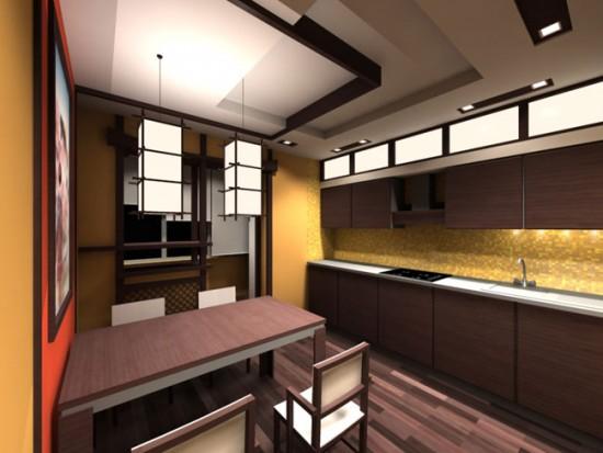 Предусмотрите несколько источников освещения на кухне
