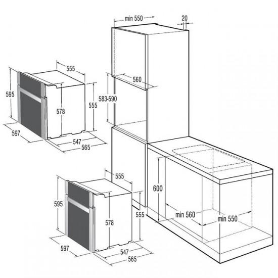 Gorenje - схема установки