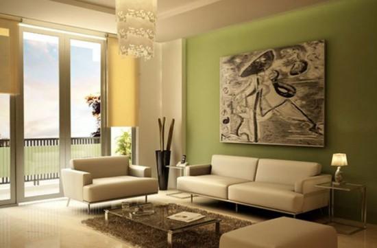 Рулонные шторы для современного дизайна гостиной