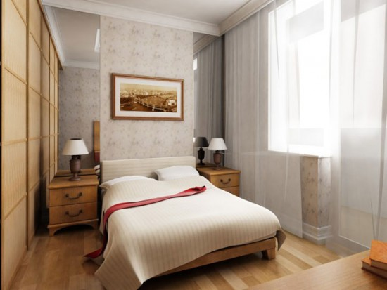 Белые легкие шторы подходят для любого интерьера, делая его свежее