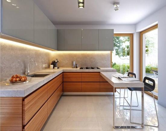 Выбирайте для кухни спокойные и нейтральные оттенки - они всегда остаются актуальными