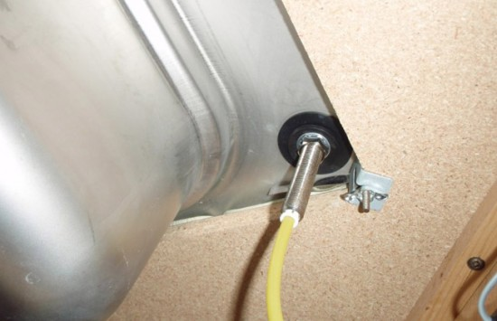 Подключение крана для фильтрованной воды