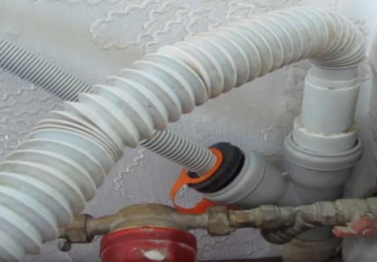 Подсоединение к канализации