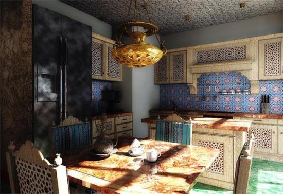 Арабский дизайн кухни