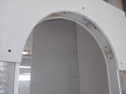 Арка из гипсокартона — пошаговая инструкция создания дверного проема своими руками (100 фото)