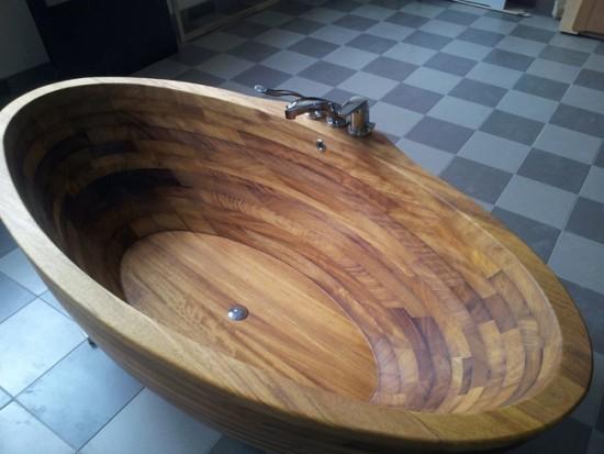 Помните. что не все породы дерева пригодны для создания ванны