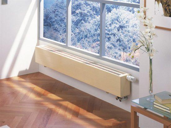 Конвектор можно легко вписать в интерьер, подобрав нужный цвет и форму