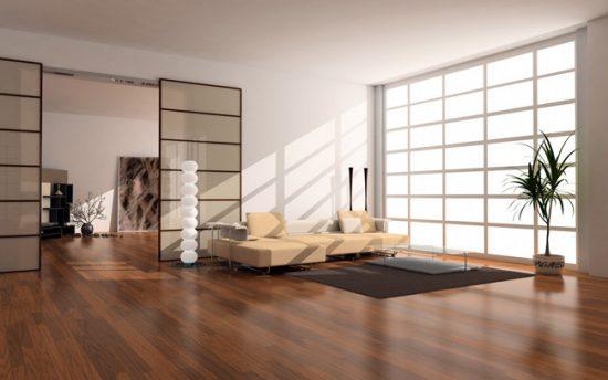 Качественная плитка ПВХ применяется для отделки различных жилых помещений
