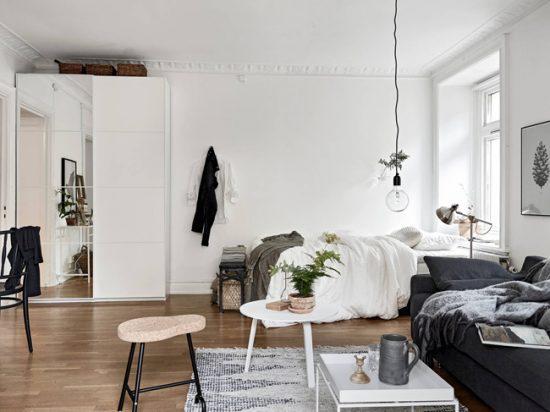 Создавая скандинавский интерьер. не перегружайте пространство мебелью