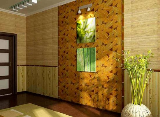 Бамбуковые обои могут выгорать на солнце