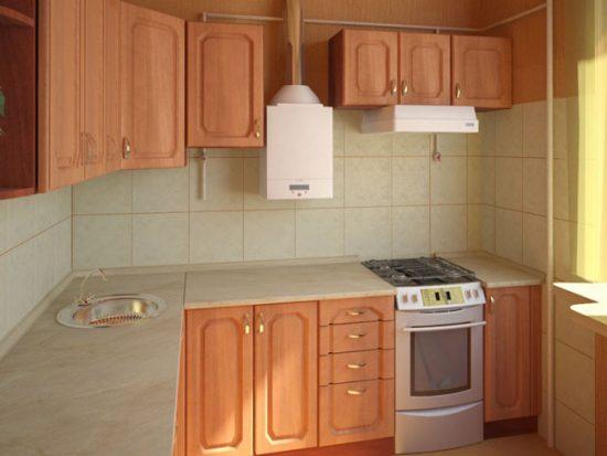 Колонка на кухне должна быть размещена в соответствии с правилами безопасности