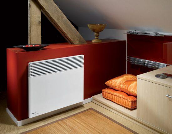 Электрические конвекторы можно размещать на кухне и в ванной