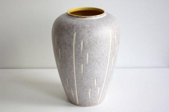 Глиняная напольная ваза