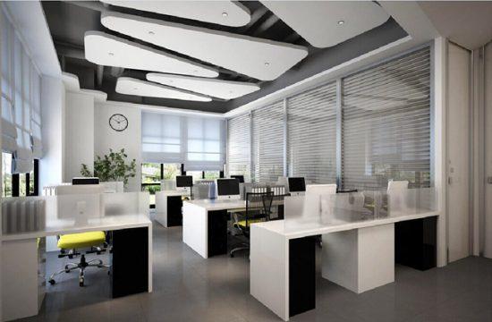 Офисная комната без перегородок