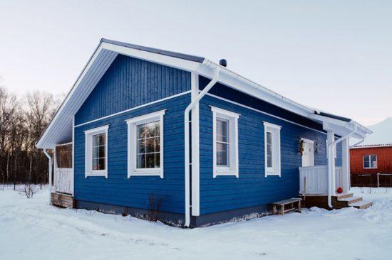 Экстерьер дома в скандинавском стиле