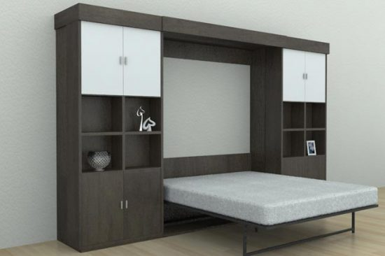 Кровать трансформер позволяет существенно экономить пространство