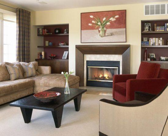 Прежде чем приступать к дизайну гостиной, продумайте, что именно должно быть в комнате
