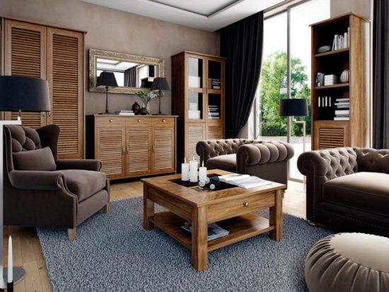 Выбирайте мебель так, чтобы она гармонировала со стилем интерьера