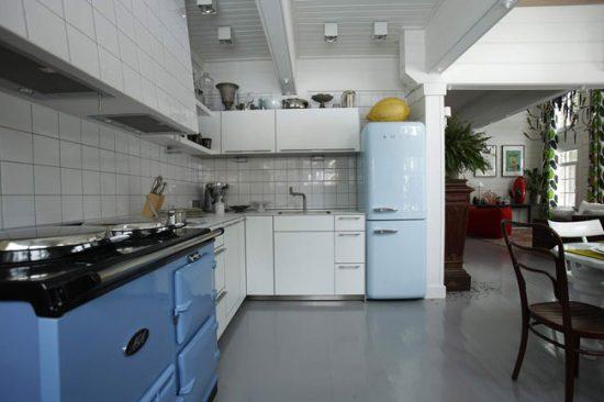 Кухня в стиле 50-х годов