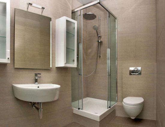 Для маленькой ванной используйте подвесную сантехнику