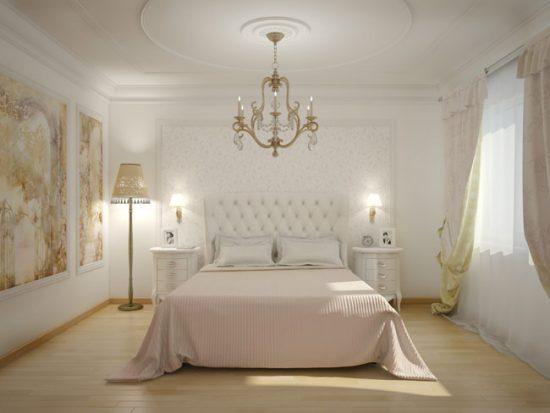 Используйте для спальни сдержанные тона