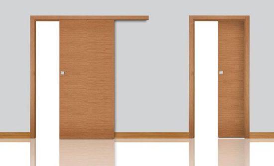 Раздвижная дверь не занимает много пространства