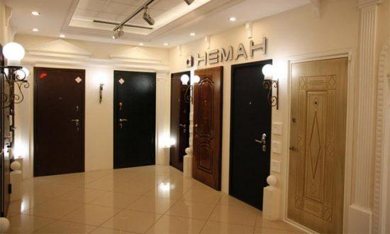 Металлические двери с накладками МДФ