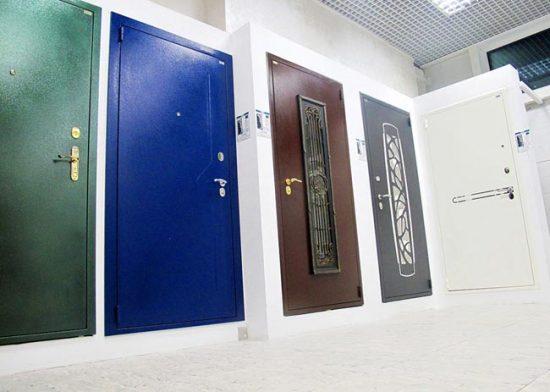Металлические двери с порошковым покрытием