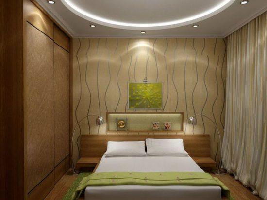 Спотовые светильники в дизайне подвесного потолка