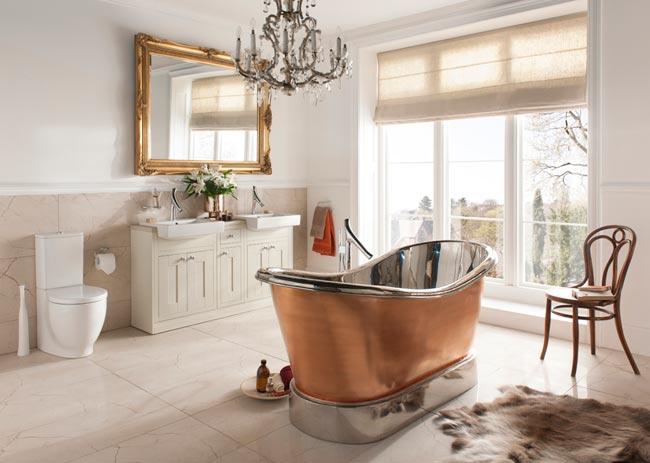 Предпочтите ванну душевой кабине