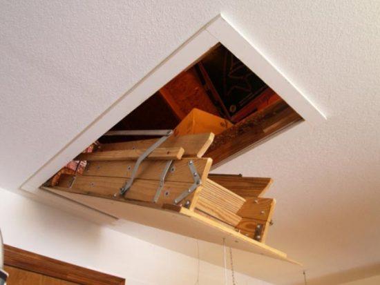 Лестница в сложенном состоянии