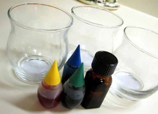Для приготовления цветного желатинового освежителя понадобятся красители