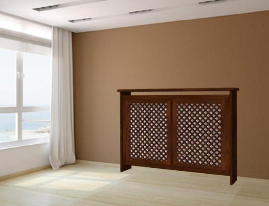 Декоративная решетка может стать украшением интерьера